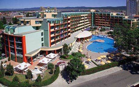Bulharsko - Slunečné Pobřeží na 8 dní, all inclusive s dopravou letecky z Prahy 200 m od pláže