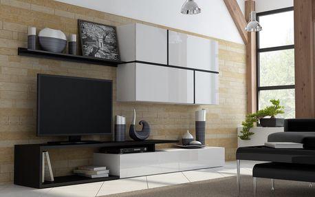 Nadčasová obývací stěna GOYA - 3 barevné varianty