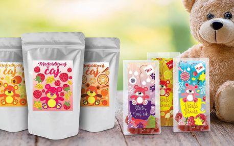 Medvídkové čaje s ovocnou příchutí