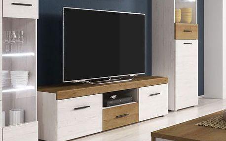 TV stolek s policí FALCO