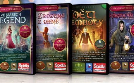 5 sérií počítačových her: různé žánry, vše česky