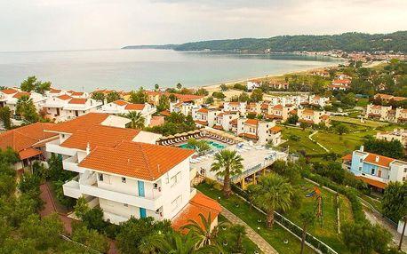 Řecko - Chalkidiki na 10 až 11 dní, polopenze s dopravou autobusem 250 m od pláže