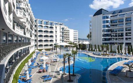 Bulharsko - Slunečné Pobřeží na 8 dní, all inclusive nebo polopenze s dopravou letecky z Prahy 20 m od pláže