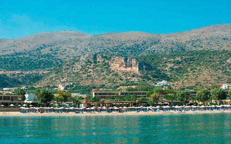 Řecko - Kréta na 8 dní, polopenze s dopravou letecky z Prahy přímo na pláži