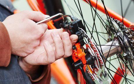 Kompletní profesionální servis jízdního kola