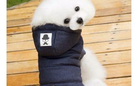 Zimní bunda pro psy