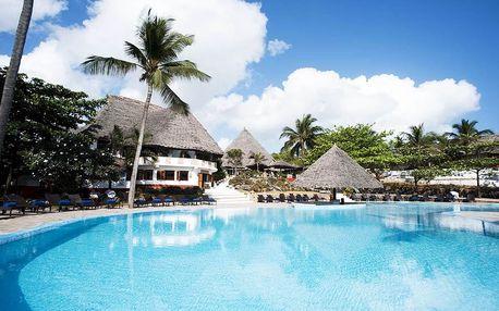 Zanzibar - Pingwe na 8 až 14 dní, polopenze s dopravou letecky z Prahy 700 m od pláže