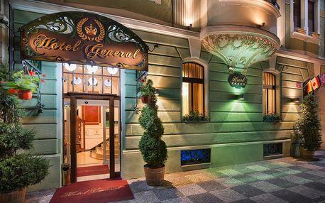 5chodové české degustační menu v 5* hotelu pro dva