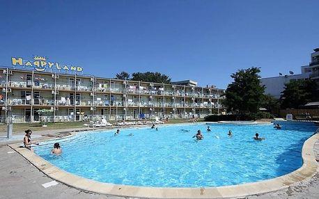 Bulharsko - Slunečné Pobřeží na 8 dní, all inclusive nebo polopenze s dopravou letecky z Prahy 200 m od pláže