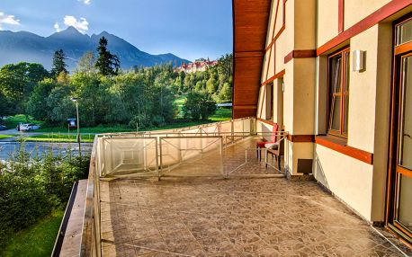 Výhled na Tatry, wellness a 2 děti zdarma v hotel Tulipán***