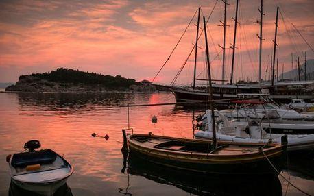 Chorvatsko - Makarska Riviera na 6 dní, bez stravy s dopravou autobusem