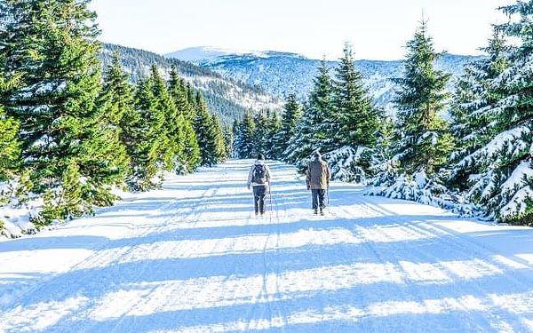 Krkonoše v rodinném penzionu u skiareálu