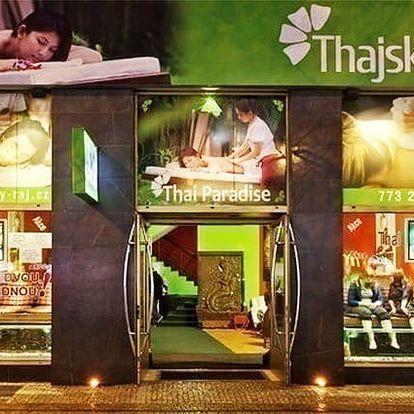 Olejová masáž, masáž nohou a rybky Garra Rufa pro 1 v salonech Thajský ráj v Praze