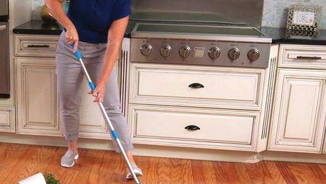 Podlahový zametač Hurricane Spin Broom vysavač pro čistou podlahu