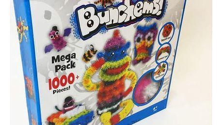 Svítící Bunchems kreativní sada 1000 kusů speciálních kuliček