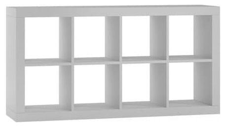 Regál nebo knihovna KALAX 2x4