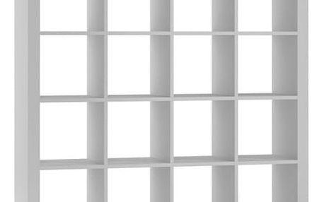 Regál nebo knihovna KALAX 4x4
