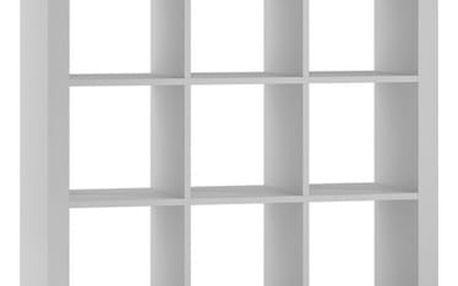 Regál nebo knihovna KALAX 3x3