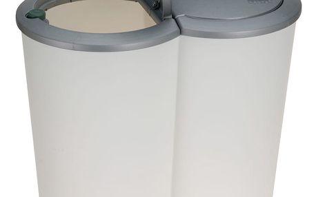 Emako Dvojitý odpadkový koš - 2 x 25 l