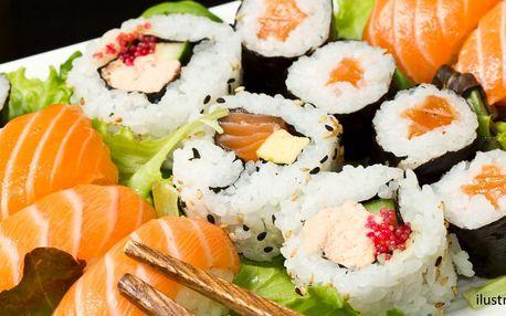 3 úžasné sushi sety: vegetariánský i s plody moře