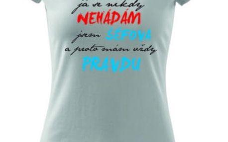 Pánská a dámská trička s potiskem dle výběru