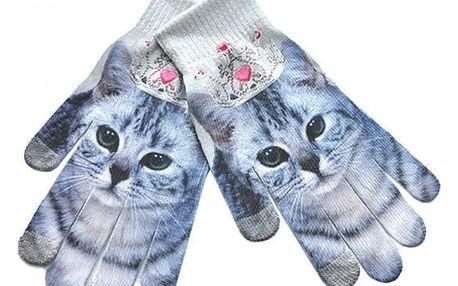 Dámské rukavice s 3D motivy - 10 variant