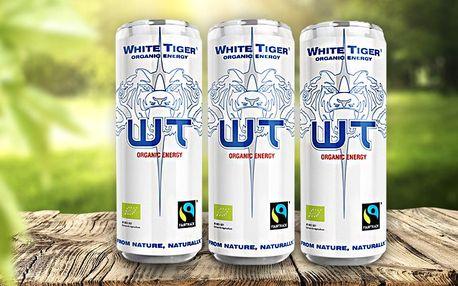Tygří síla v BIO energetickém nápoji s guaranou