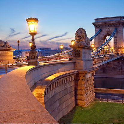 Wellness pobyt pro dva a dítě v maďarské metropoli na 3 dny v Expo Congress Hotel Budapest ****.