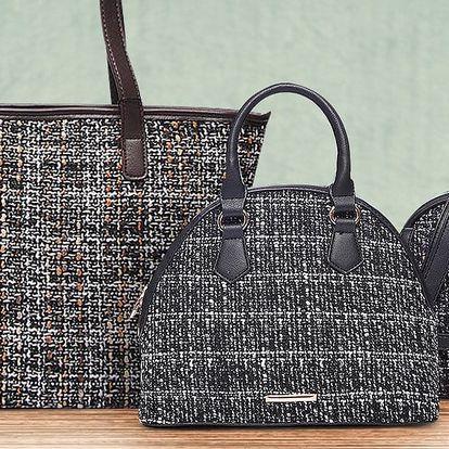 Elegantní dámské kabelky Tweed Bags