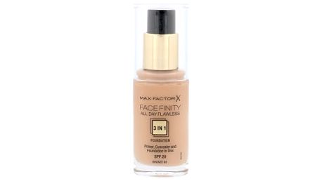 Max Factor Facefinity All Day Flawless 3in1 SPF20 30 ml makeup pro ženy 80 Bronze