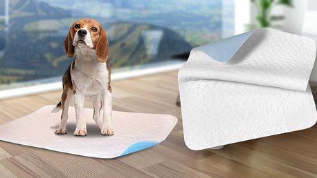 Absorpční pratelné podložky pro vaše mazlíčky
