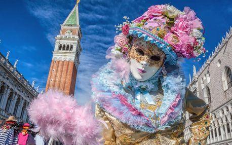 Zájazd za neopakovateľnou atmosférou slávneho Benátskeho karnevalu