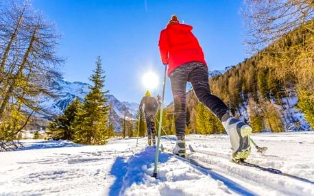 Krušné hory nedaleko několika ski areálů