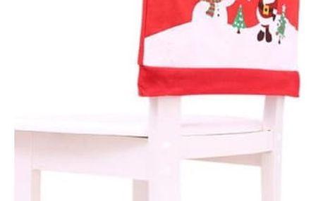 Vánoční návlek na opěradlo