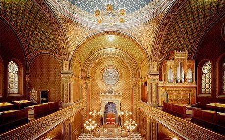 Vstupenka na koncert Hallelujah do Španělské synagogy