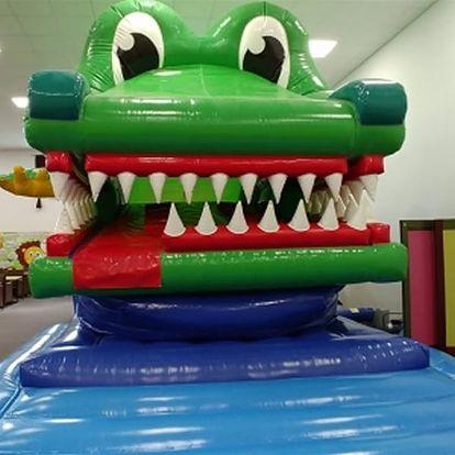 Celodenní vstup do dětského zábavního parku Lvíček pro dítě do 15 let.