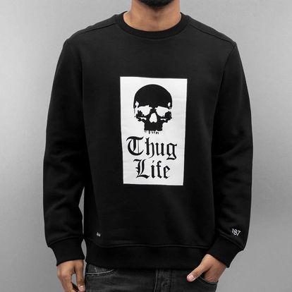 Thug Life / Jumper Getosthug in black XL