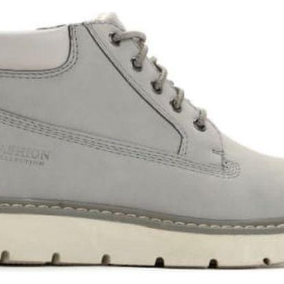 Dámské šedé kotníkové boty Rosey 052