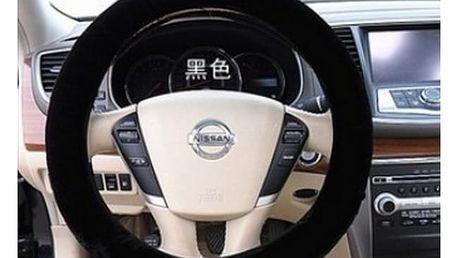 Plyšový potah na volant - zapomeňte na zmrzlé ruce!