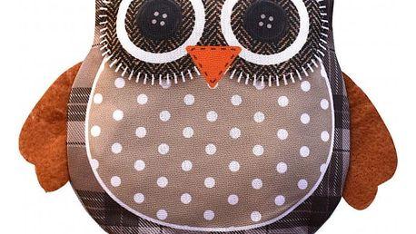 Modom Nahřívací polštářek s třešňovými peckami Sovička SJH 596C