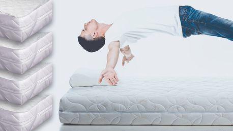 Prošívané chrániče matrací ve čtyřech rozměrech
