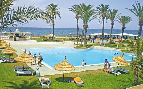Tunisko - Monastir na 8 až 15 dní, polopenze s dopravou letecky z Prahy přímo na pláži