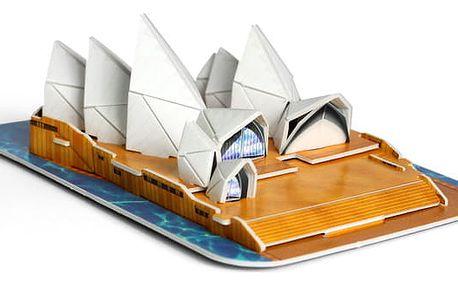 3D puzzle Opera v Sydney - poskládejte a vystavte si své dílo!