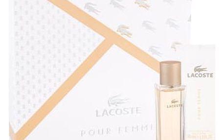 Lacoste Pour Femme EDP dárková sada W - EDP 50 ml + tělové mléko 100 ml