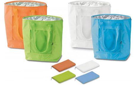 Skládací chladící taška ochrání Vaše potraviny před horkem!