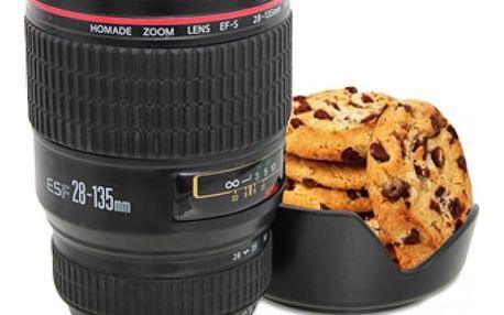 Hrnek objektiv aparátu - super dárek pro milovníky fotoaparátů!