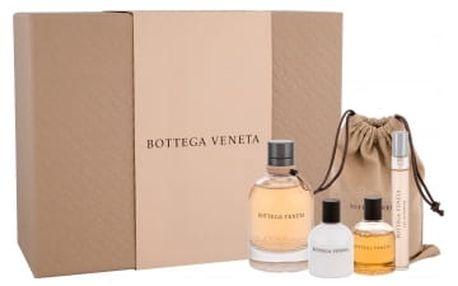 Bottega Veneta Bottega Veneta dárková kazeta pro ženy parfémovaná voda 75 ml + parfémovaná voda 10 ml + sprchový gel 30 ml + tělové mléko 30 ml