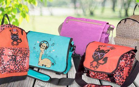 Tašky přes rameno a batohy pro děti i dospělé
