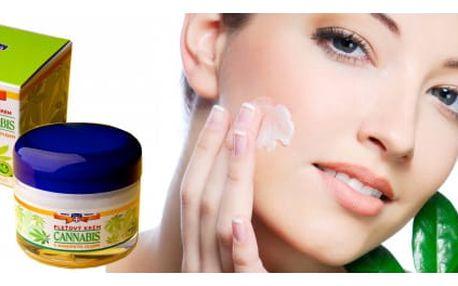 Konopný pleťový krém Herbal Therapy 50 ml - vyzkoušejte sílu konopného oleje!
