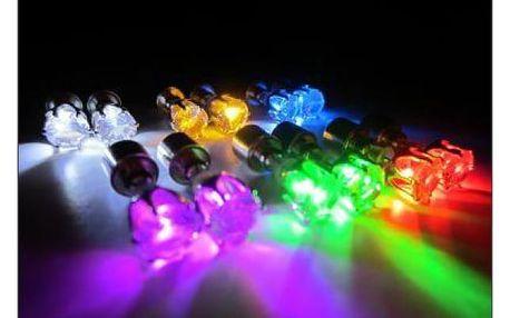 LED svítící náušnice - rozzáříte každou párty!